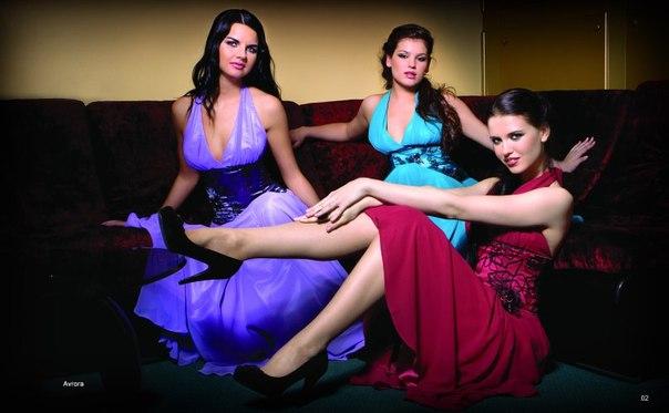 самые эксклюзивные платья в пол (37 фото)